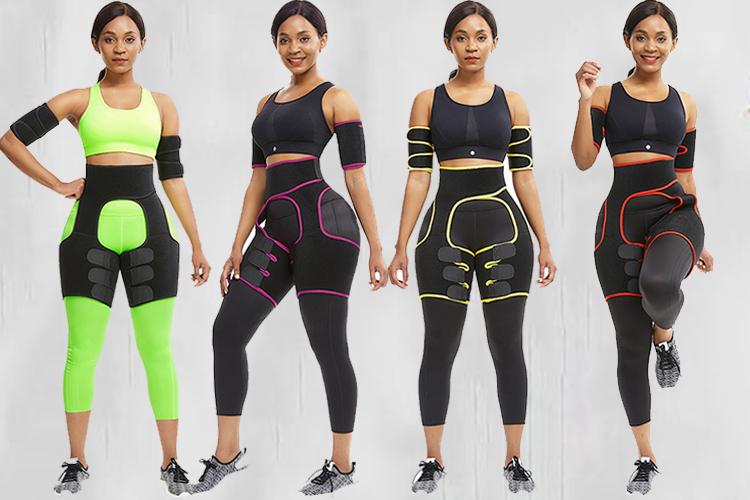Butt Lifter Thigh Eraser Weight Loss Shapewear Waist Trainer Women Slimming Belts Leg Arm Shaper Neoprene Waist Belt