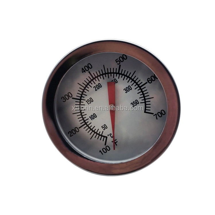 2 Inch Dial Instant Read Bbq Grill Thermometer For Kamado Smoker