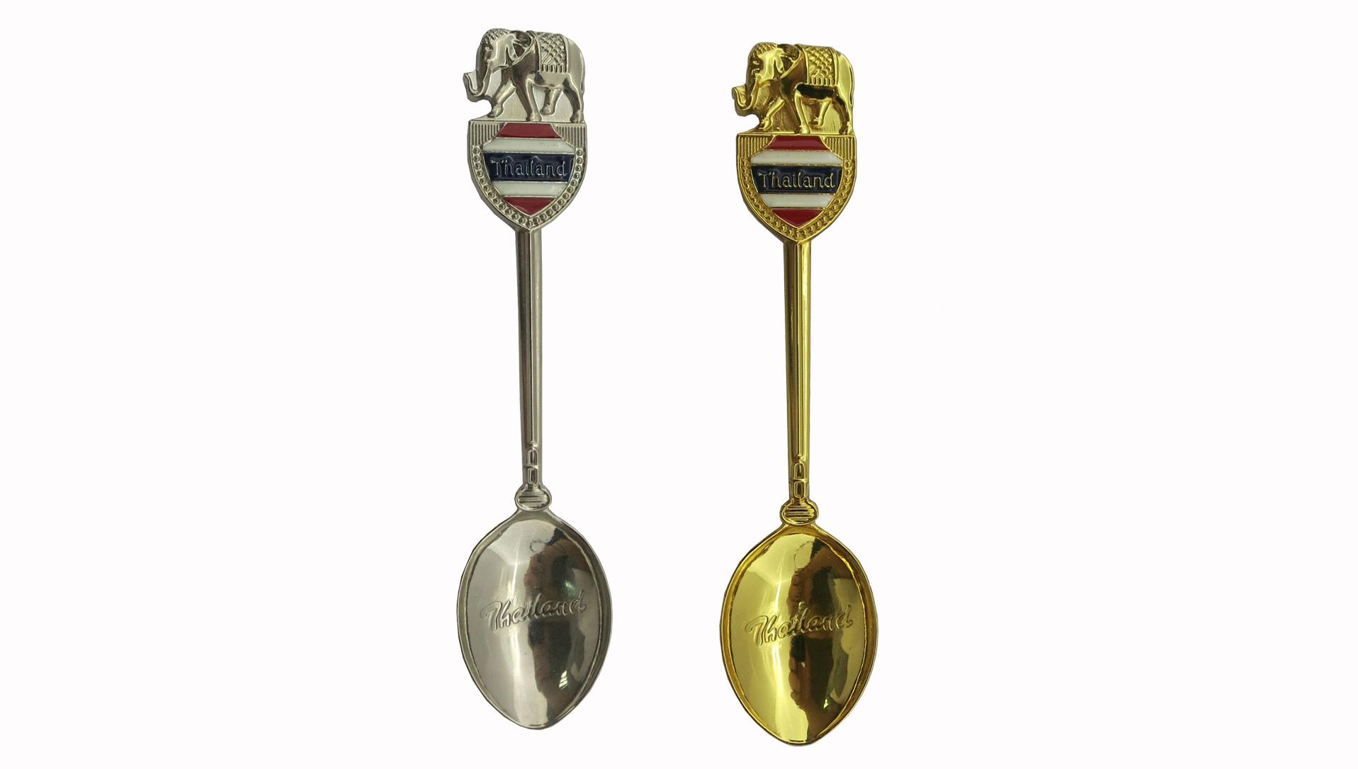 Nach France tourist zink legierung metall souvenir metall geschenke antike messing löffel