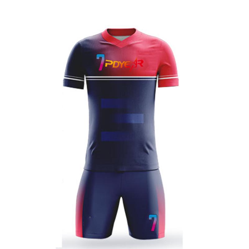 Fußball Jersey Sets Sublimation Fußball Tragen für männer der Praxis Fußball Shirts Custom Football Sportswear Fußball Team Uniform