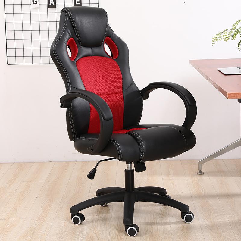 Échantillon gratuit vente en gros ordinateur PC gamer course Style chaise de bureau pivotant ergonomique confortable pu/cuir course chaise de jeu