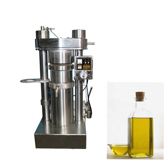 4 head oil presser 5 set sesame seed oil manufacture price 5kg/h manual oil press machine