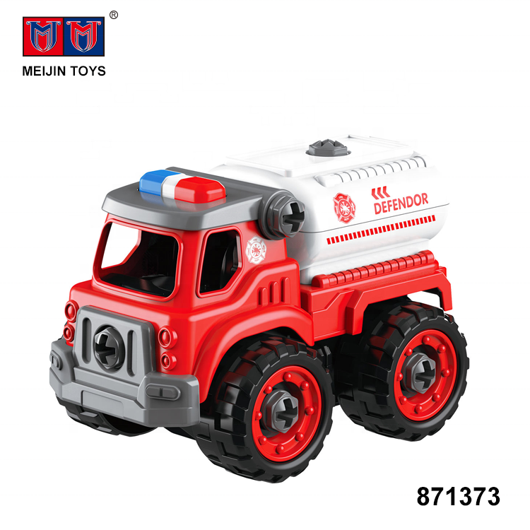 new item 26PCS diy car toy assemble building block for kids