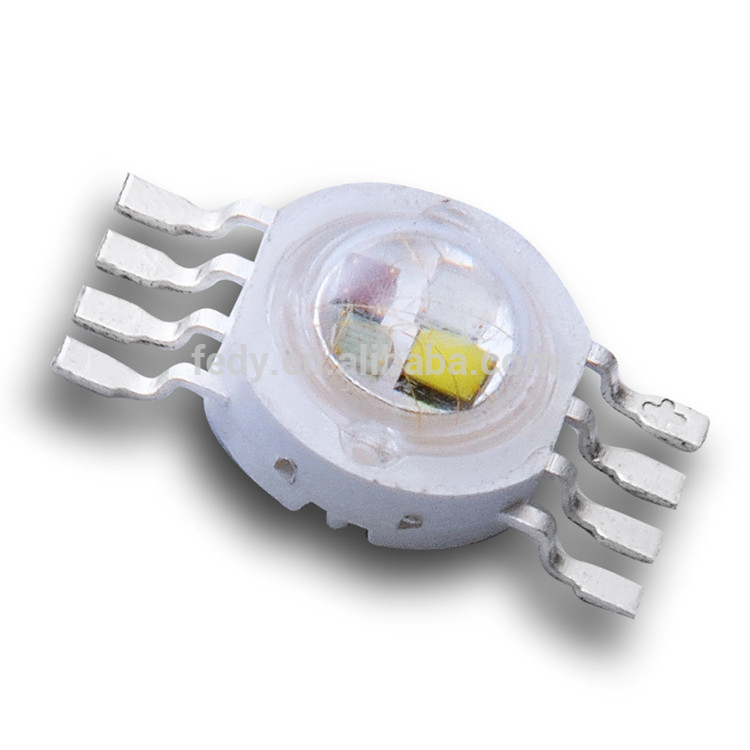 hot sale 3 years warranty epileds chips 4*3w rgbw hi-power led with high intensity