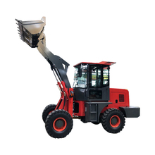 Skid Steer Depan Quick Coupler Articulated Backhoe Shovel <span class=keywords><strong>Roda</strong></span>
