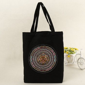 Custom Logo Printed New Eco Shopping Bag CanvasTote Bag