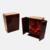 Glossy Lacquer Finished  Gift Antique Wooden Wine Box