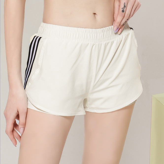 2020 Amazon Hot Sale Stitching Quick Dry Soft Biker Shorts for Women