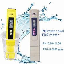 Цифровой измеритель PH EC TDS тестер термометр ручка Чистота воды PPM фильтр гидропоники для Аквариума Бассейн Воды Монитор Скидка 40%(Китай)