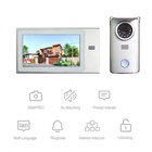 Logo Customization Video Door with 2 Smart Doorbell with Camera Villa Ip Waterproof Video Intercom Apartment Systems Home Security Alarm Intercom Video Door