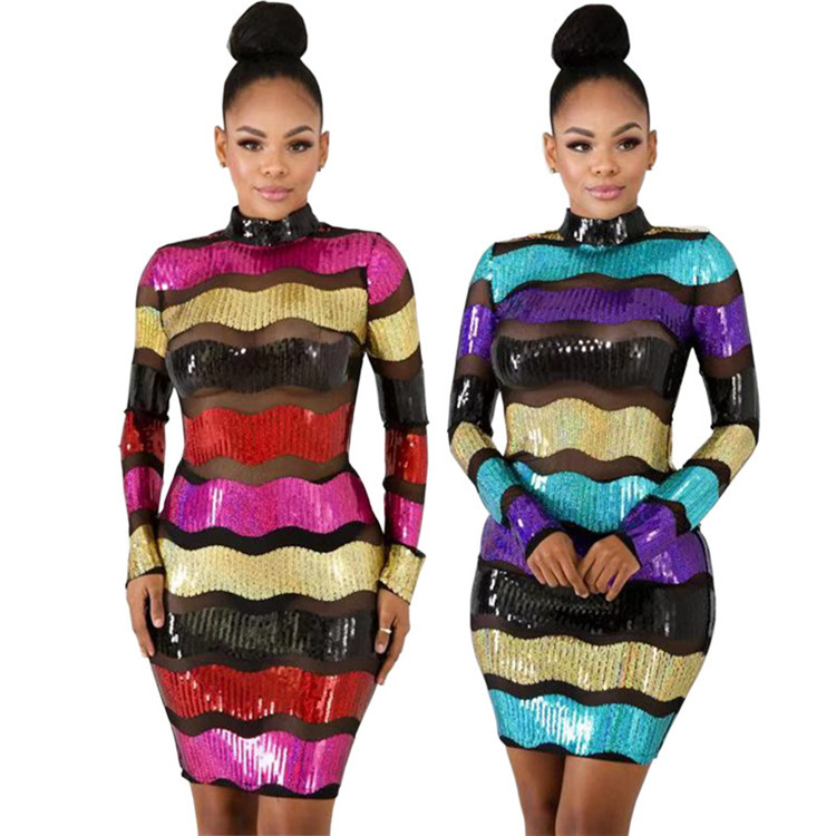 81589 Christmas Sequin Ladies Dress Us Hotsale Shining Stripe Dress Women Night Club Casual Clothing Dress Buy Christmas Fashion Ladies Dresses Women Night Club Clothing Shining Stripe Dress Women Product On Alibaba Com
