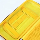Carrying Case Hard EVA Carry Shell Travel Case Game Traveler Deluxe For Nintendo Switch With yellow Zipper