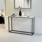 Console Table Nordic Ins Luxury Iron Art Simple Modern Wall Side Cabinet Corridor Cabinet Hall Porch Cabinet Console Table
