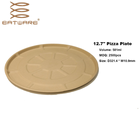 Disposable Paper Plate Disposable Plate Paper 9 Inch Disposable 100% Natural Biodegradable Raw Materials Paper Plate Disposable Dishes Plate