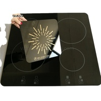 Black Color Induction Cooker Ceramic Glass Plates