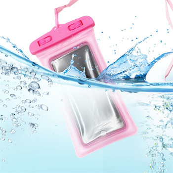 Custom Floating Airbag Waterproof Swim Bag Phone Case Pouch Universal For Samsung S20 all Mobile Phone