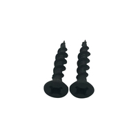 bugle head fine thread drywall screw black phosphated