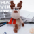 Custom Christmas plush soft deer from China