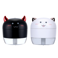 Mini Angel Devil Quit Working Oxygen Portable Humidifier With Led Light