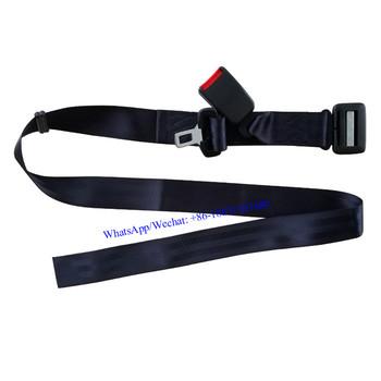 2 x ceinture de sécurité butées plastique bouton universel Safety Belt Clip