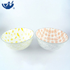 Chinese Textured Various color glazed ceramic noodle soup bowl