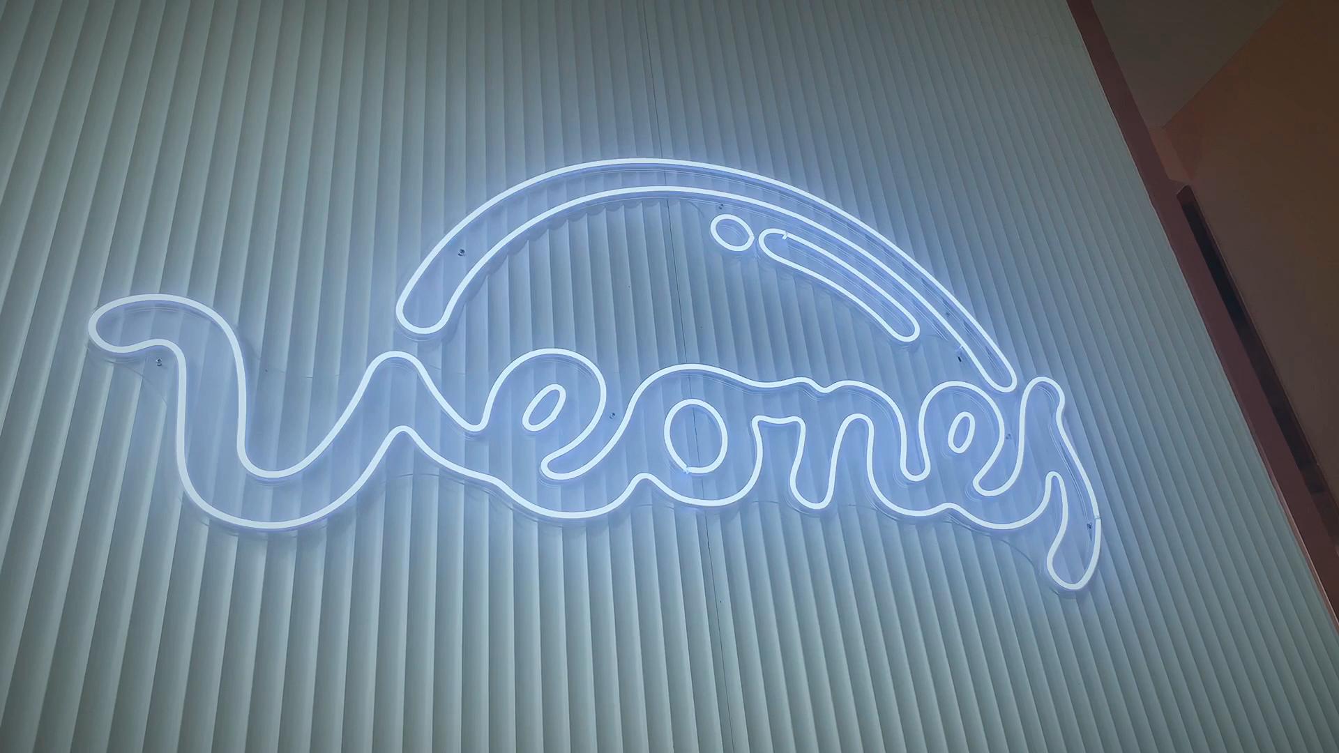 5mm 12v/24v  slim monocolor logo sign ice blue led silicone neon flex