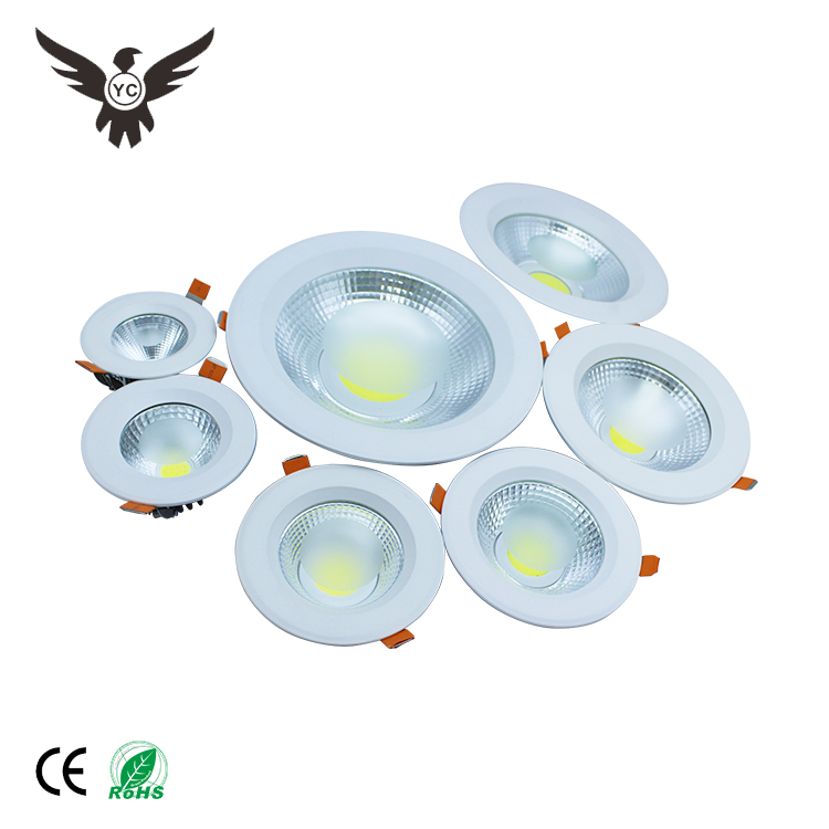 High quality custom wholesale 7w outdoor commercial recessed thin led cob spot light