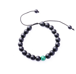 China Factory Quality Handmade Adjustable Natural Stone Gemstone Beads Stretch Bracelet
