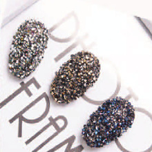 3D Micro minuscule Zircon UV Gel sable forage Flash strass diamant verre Nail Art autocollant pour la décoration