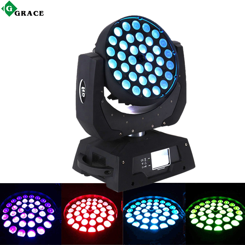 36*18W Rgbwauv Wash Zoom Led Moving Head Light