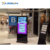 Wireless tft innen lcd stand digital signage display totem touchscreen initeractive kiosk