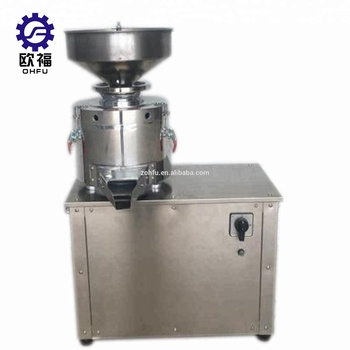 High Efficiency Industrial Pepper Paste Nut Butter Chilli Concrete Grinding Machine Production Line