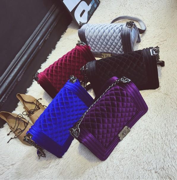 winter purse 2020 new style velvet bags vendor fashion purse bags 2020 designer jelly velvet purse and handbags