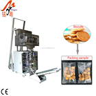 Vertical popcorn/banana slices/potato chips automatic packing machine