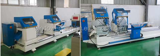 PVC frame cutting machine