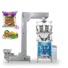 Maximum Machine Fully Automatic 10 Head Weigher Maximum Bag Width 150mm 1KG 500G Rice Bean Sugar Packing Machine