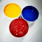 ABS plastic screen printing ink