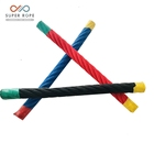 Playground Used Multi Color Twisted Rope With Wire Steel Core Combination Reinforced Rope