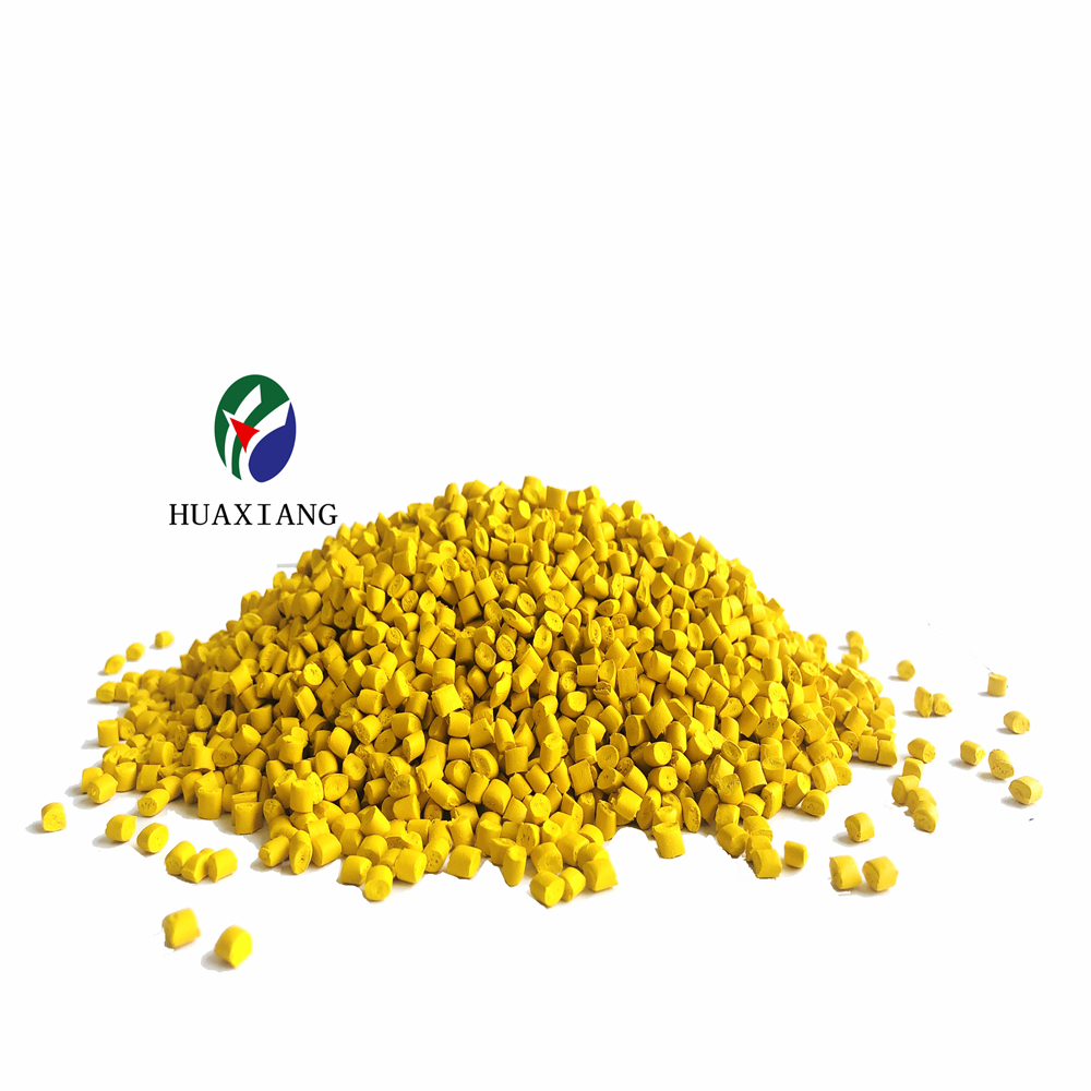 Hot sale Plastic Yellow Color Masterbatch 10%-50% pigment for PP PE PVC <strong>EVA</strong>