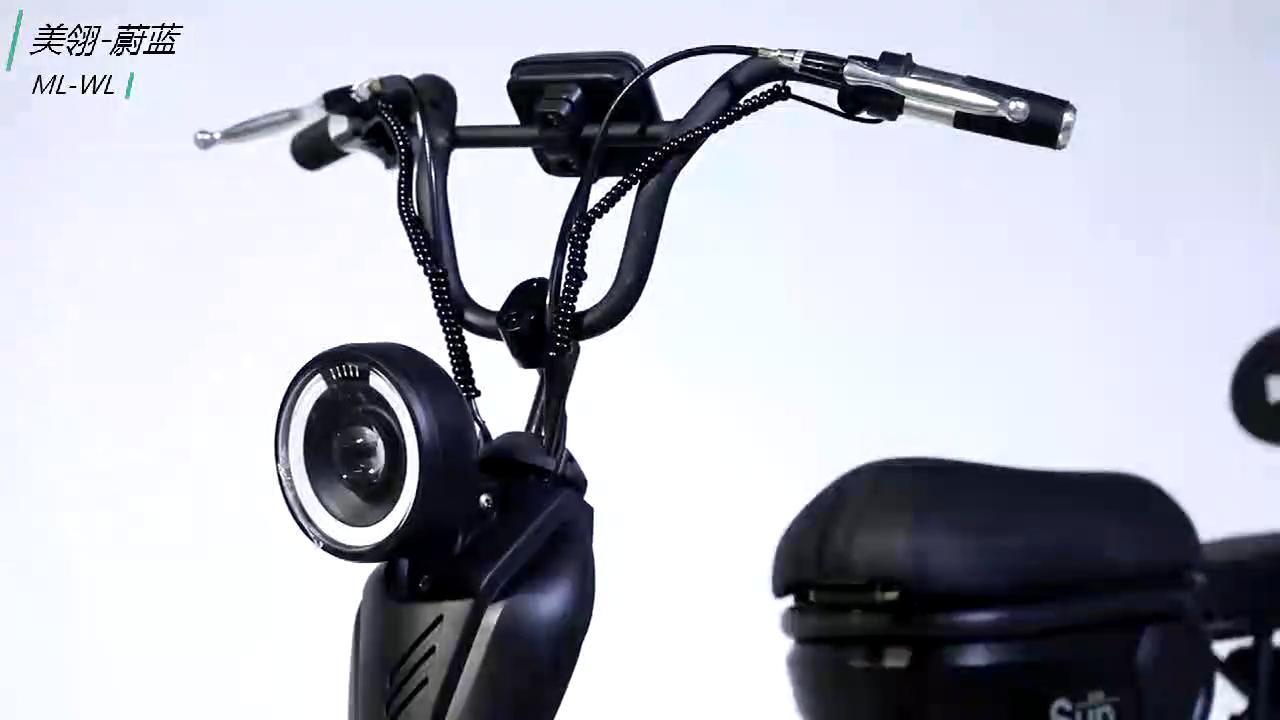 2.5-14 ยางขนาด 48 V แรงดันไฟฟ้า 18 นิ้ว CE แบตเตอรี่ลิเธียม eBike ไฟฟ้าจักรยานสกู๊ตเตอร์ไฟฟ้า E-สกู๊ตเตอร์เหยียบ