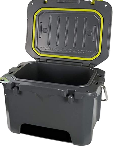 Plastic Insulated Ice Cooler Outdoor Ice Box Portable Beer Can Drinking Rotomolded Cooler Box