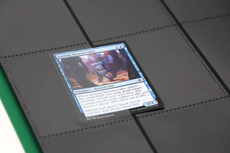 Premium BLACK PP matte trading card binder