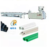PPR pipe production line Ppr20-63 high speed and high efficiency tube extrusion equipment