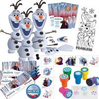 Goodie Bag Fillers Craft Kit Frozen Stampers Packs Crayons Tattoos Believe Pin Frozen Birthday Party Favors