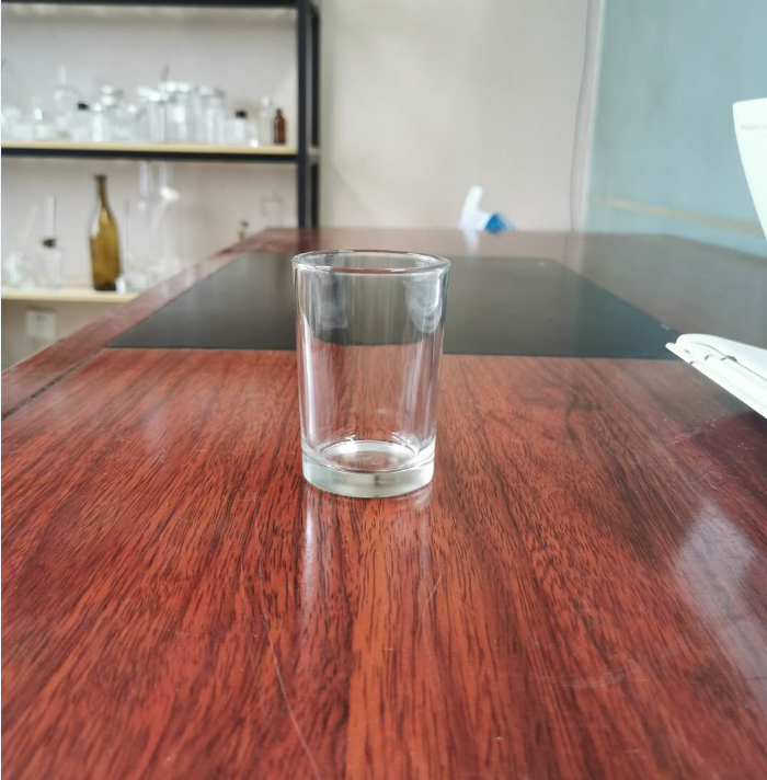 High quality clear embossed glass cup for wiskey/water /drink wholesale tableware
