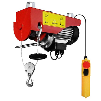 High Efficient 200kg Small Electric Pulley Hoist for Lifting Cargo