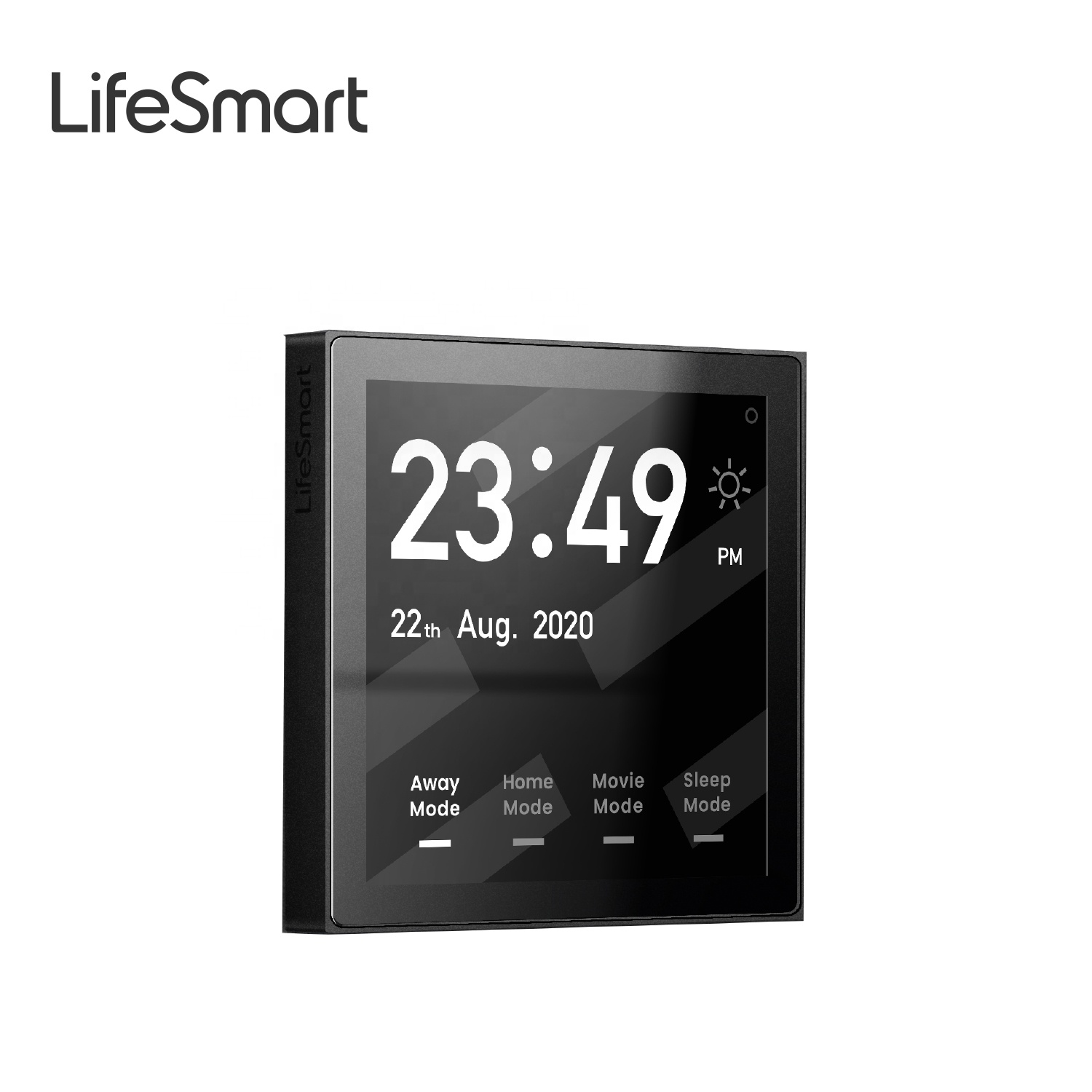 LifeSmart Nature Mini Touch Screen Smart Wall Switch Temperature Panel For Smart Home System Work with Google, Alexa and HomeKit