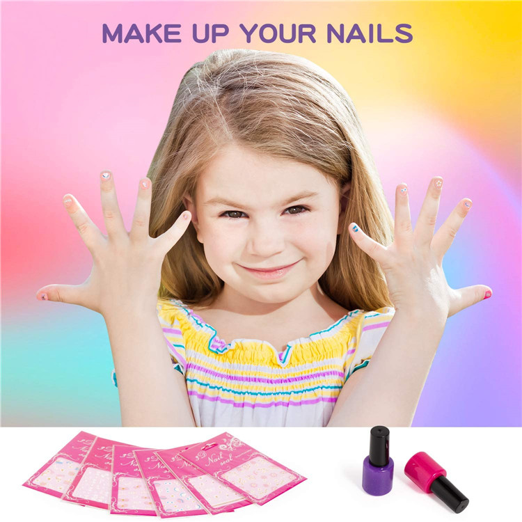 children play make up game Non-toxic eco-friendly washable kids makeup kit