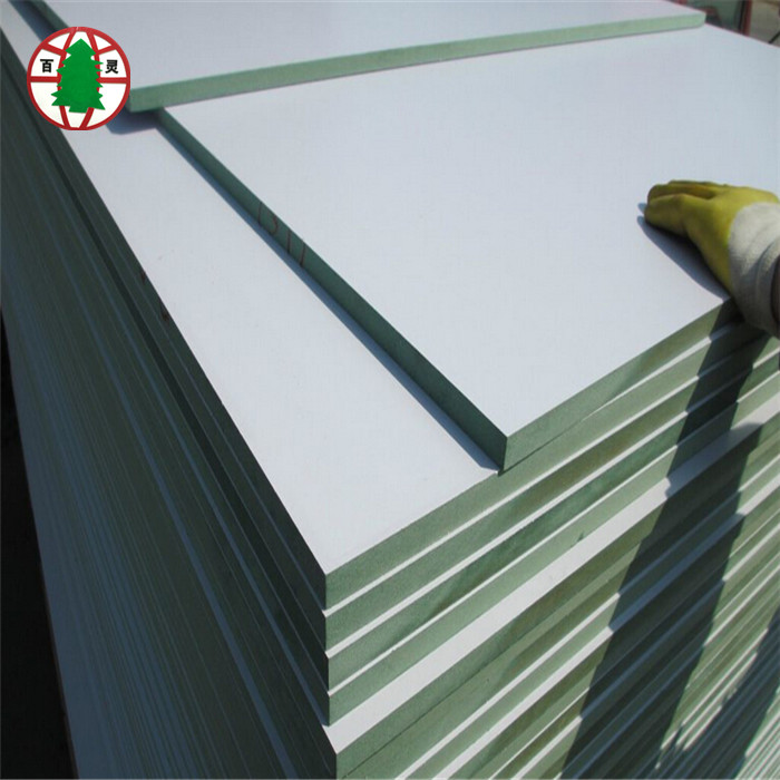 6 /9/ 12/15/18 mm HMR <strong>mdf</strong> melamine green <strong>mdf</strong>
