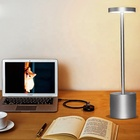 Noble Modern Spa Aluminum battery operated led hotel table lamp